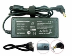 Compaq Presario 1070, 1075, 1080 Charger, Power Cord