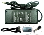 Compaq Presario 18.5v 4.9a, 90 Watt AC Adapter Charger, Power Cord, 4.8x1.71 plug