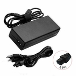 Compaq Presario 24v 1.875a, 45 Watt AC Adapter Charger, Power Cord, 4 Pin