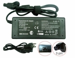 Dell Latitude CPt-C333GT, CPt-S500GT, CPtV-466GT Charger, Power Cord