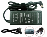 Fujitsu LifeBook E6540, E6541, E6550, E6555 Charger, Power Cord