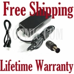 HP Envy dv7-7323cl, dv7-7333cl Charger, Power Cord