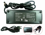 Sony VAIO PCG-GRZ77/B Charger, Power Cord