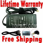 Toshiba Satellite C55-A5220, C55-A5300 Charger, Power Cord