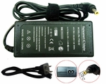 Toshiba Satellite L645D-S4058BN, L645D-S4058RD, L645D-S4058WH Charger, Power Cord
