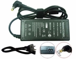 Toshiba Satellite T215D-S1160, T215D-S1160RD, T215D-S1160WH Charger, Power Cord