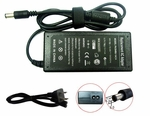 Toshiba Satellite U200-148, U200-160 Charger, Power Cord