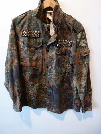 Figue military jacket palm tree