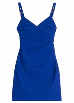 Preen albion dress bright blue