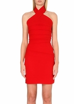 Preen victoria dress red
