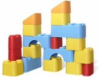 Block Set, by Green Toys