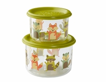 2 Pack Snack Container -- Fox