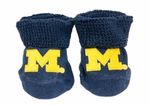 Baby Booties - Michigan