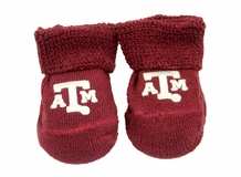 Baby Booties - Texas A&M