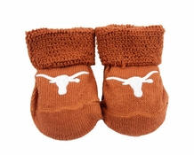 Baby Booties - University of Texas