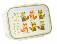 Clip -top Lunch Box -- Fox