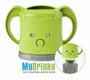 MyDrinky� - The Adjustable Juice Box Holder - Lime