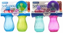 Non-Insulated Sippy Cup 2 Pack (Spill-proof!)