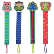 Pacifier Clip -- Choose From 4 Styles