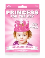 Princess for a Day -- Inflatable Crown