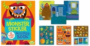 Sticker Activity Book -- Monsters