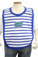 Stripe Knit Bib - Florida