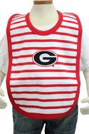 Stripe Knit Bib - Georgia
