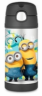 Thermos Minions FUNtainer Stainless Steel Straw Bottle