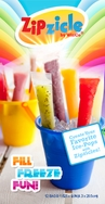 Zipzicle -- The Zip-Top Ice-Pop Mold (18 pk)