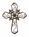"31"" Lucus Metal Wall Cross"