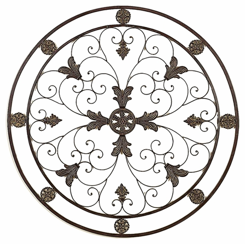 Wrought iron wall decor Good Decorating Ideas