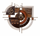 "36"" x 32"" Modena Metal Wall Sculpture"