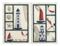 Allure of the Lighthouse Metal Wall Sculpture