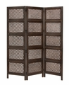 Charleston Three-Panel Folding Wood Screen