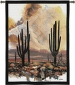 Desert Adaption Classic Cactus Wall Tapestry Hanging