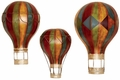 Dream Ride Trio of Hot Air Balloons Metal Wall Hanging