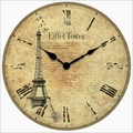 Eiffel Tower Wall Clock
