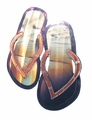Fun Flip Flop Sandals Metal Wall Art Sculpture