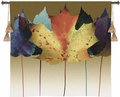 Leaf Dance - Eye-Catching Autumn Maple Leaves Wall Tapestry