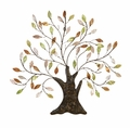 Majestic Tree of Life Metal Wall Sculpture