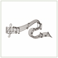 Music Metal Wall Art