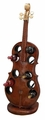 Music To My Ears Violin Ten-Bottle Upright Wine Rack