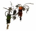 Palermo Wall Iron Wine Rack