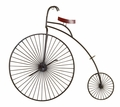 Poznan Bicycle Metal Wall Hanging