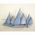 Sailing Yachts Metal Wall Art