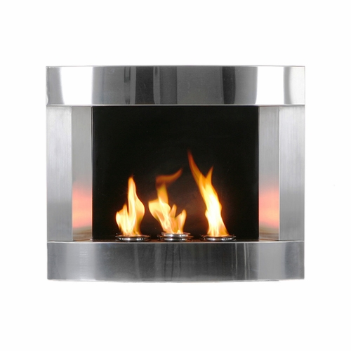 The Scandium Wall Mounted Flueless Gas Fire Pictures To Pin On Pinterest