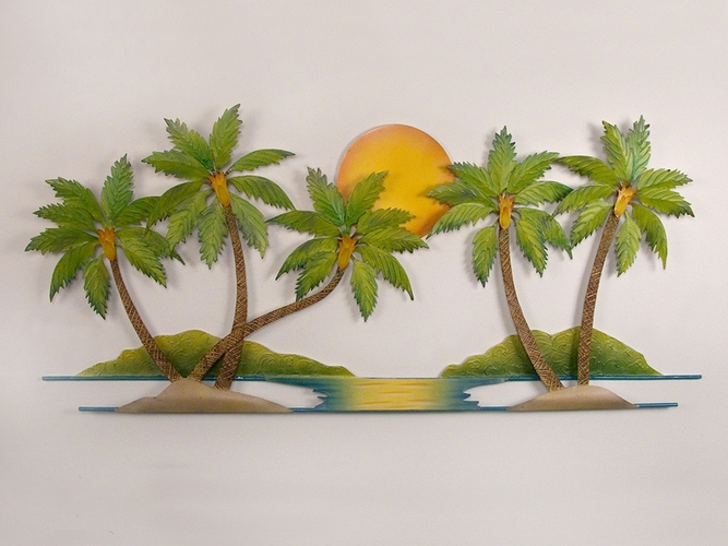 Bathroom Wall Decorations: Tropical Wall Art