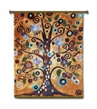 Tree of Life Revisited Wall Tapestry Hanging