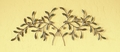 Vined Voluptuousness Handcrafted Metal Wall Hanging