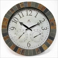 Weather Clock - Slate Mosaic Border